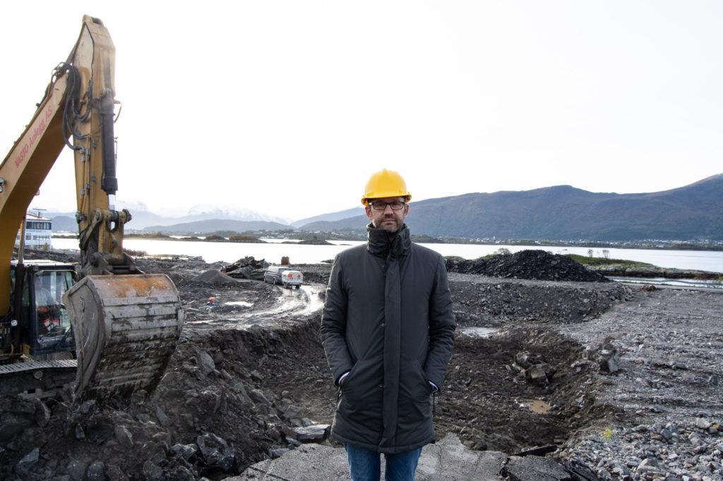 Christian Young er daglig leder i Fri Sikt Volsdalsberga AS som er utbygger for prosjektet.